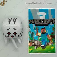 """Игрушка Красный Гаст из Minecraft - """"Red Ghast"""" - 16 см с пакетом"""