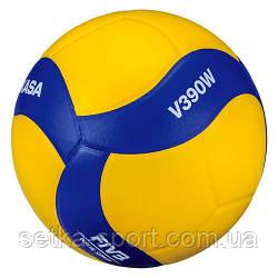 Мяч для волейбола Mikasa V390W (оригинал)