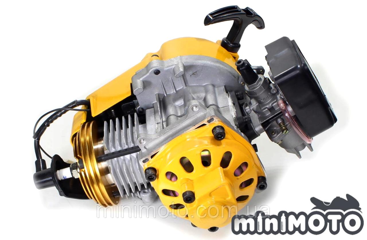"""Двигатель минимото """"TUNING"""" 60сс стандартный карбюратор на детский квадроцикл и мотоцикл 2Т 50-60сс"""