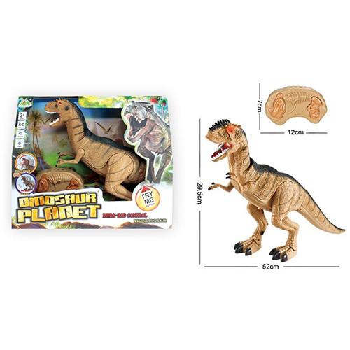 Динозавр RS6121A (24шт) р/у, 52см, звук, світло, ходить, рухома голова, на бат, в кор-ке, 37-31-12см