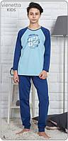 Байкова піжама з принтом Brooklyn 82 для хлопчиків на 9-16 років