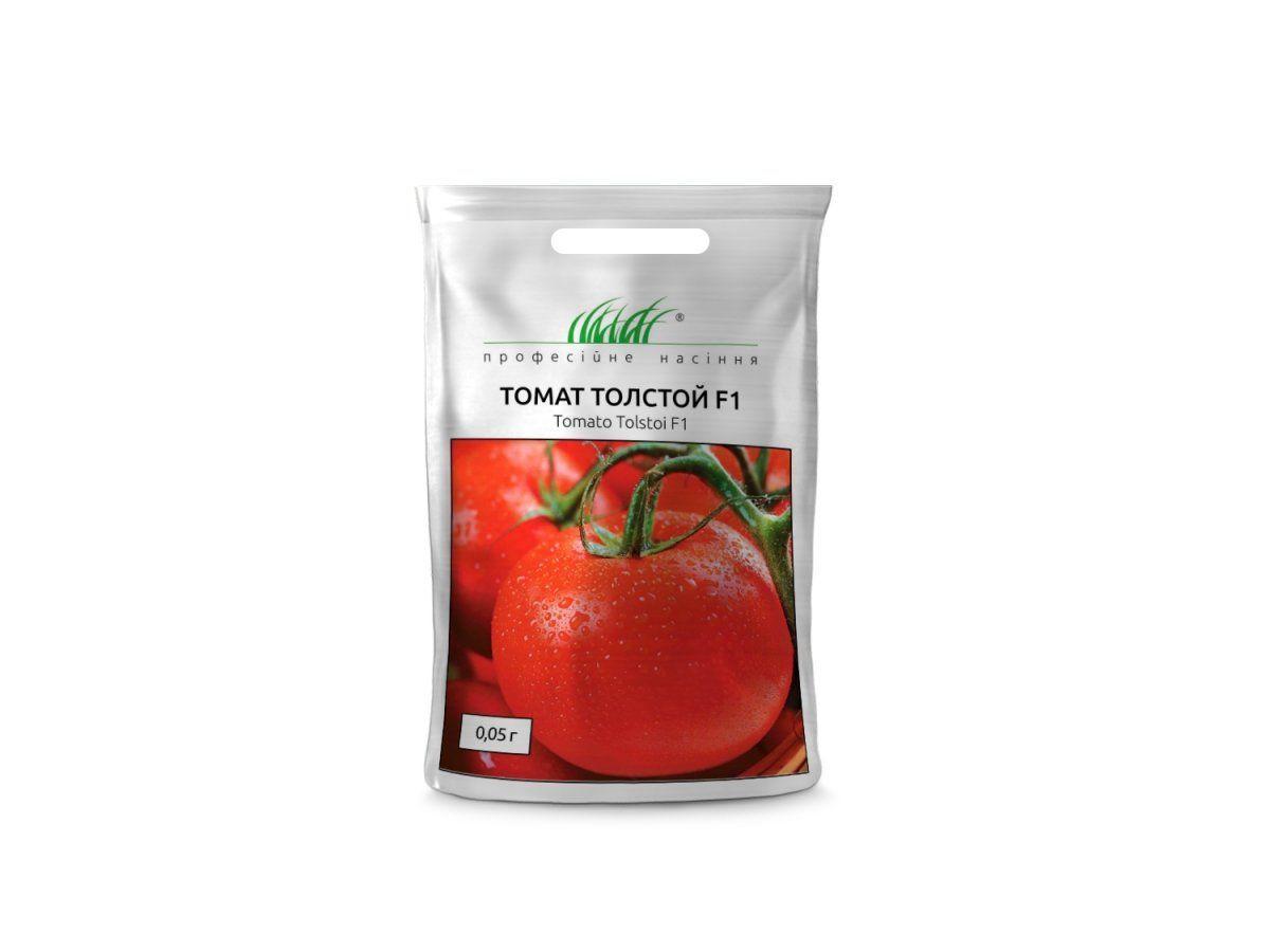 Семена томата Толстой F1, 0,05 г — ранний (70-72 дня), красный, индетерминантный, Bejo