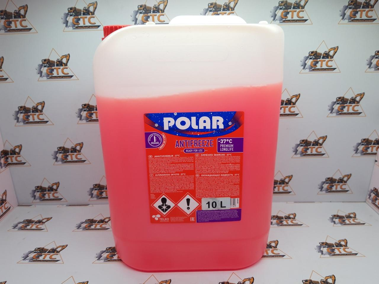 Антифриз POLAR Super Formula G12+  -37