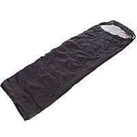 Спальный мешок одеяло с капюшоном TY-0561 (PL,хлопок, 1000г на м2, р-р 210x70см, t+10 до -10, цвета в