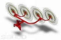 Грабли-ворошилки навесные 4 колец