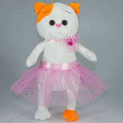 """М`яка іграшка """"Киця балерина"""" 38 см Копиця 00067-4, 38x21x13"""