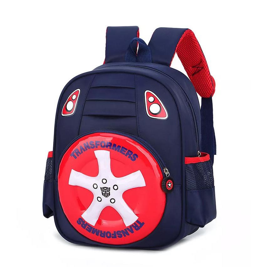 Дошкольный детский рюкзак трансформеры для мальчика дошкольника 2-3-4 года, 5 лет, городской, в садик