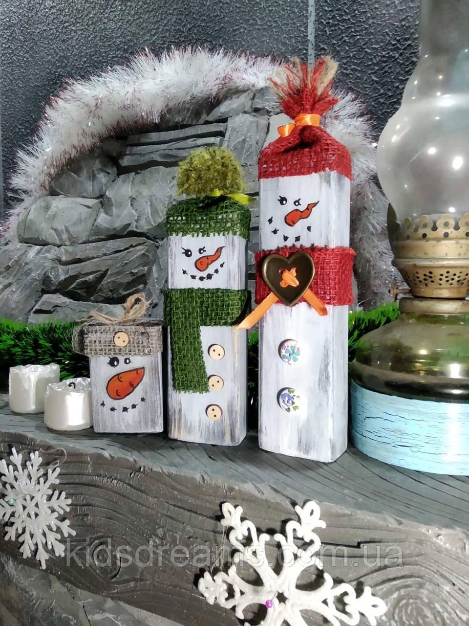 Подарки на Новый год деревянные