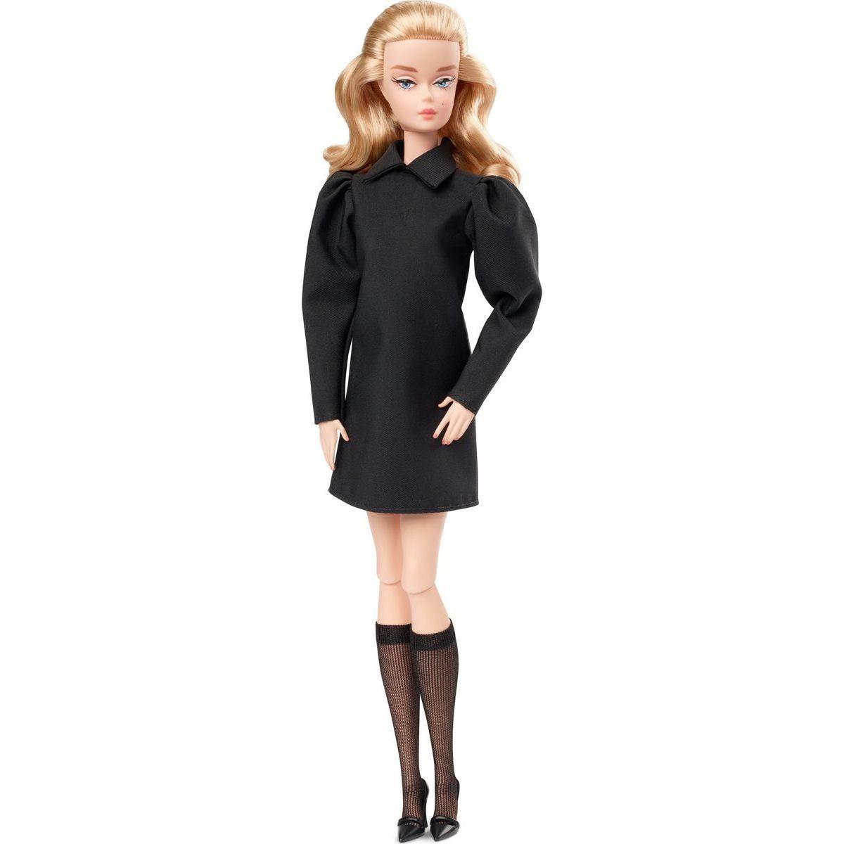 Barbie Барби коллекционная Силкстоун Лучшая в черном Barbie Best In Black Doll Mattel GHT43
