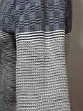 Шерстяной мужской свитер Sunrise воротник стойка Турция синий, фото 2