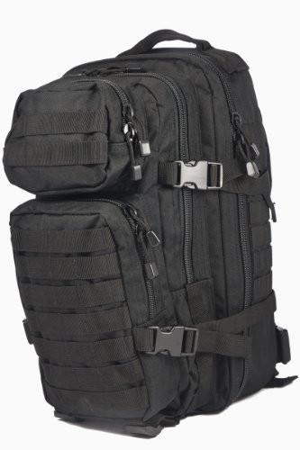 Штурмовой рюкзак 20л система Molle MilTec Assault чёрный 14002002