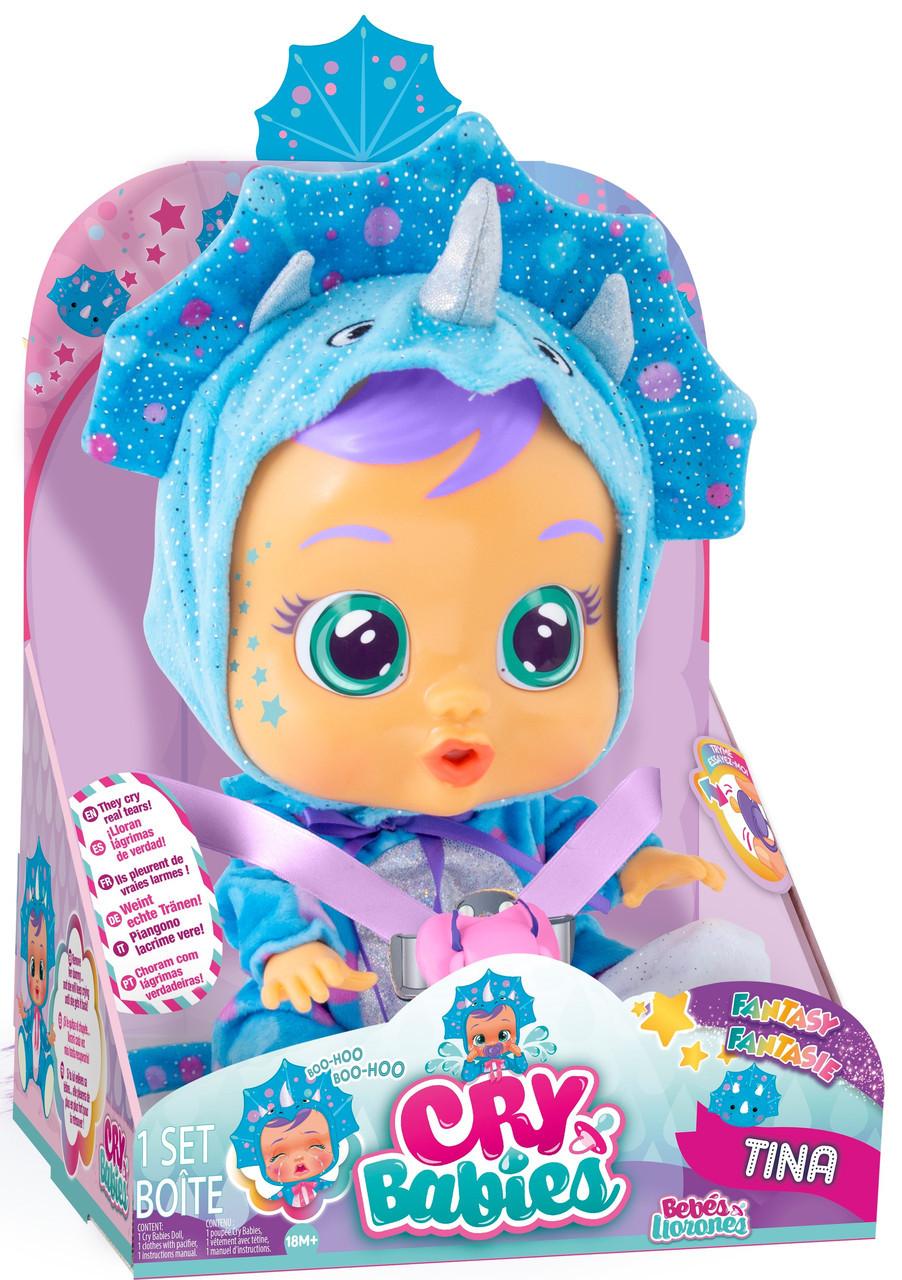 Пупсик Cry babies Плакса Тинаи / Cry Babies Tina Doll