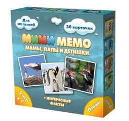 Настольная игра Ми-Ми-Мемо Птицы