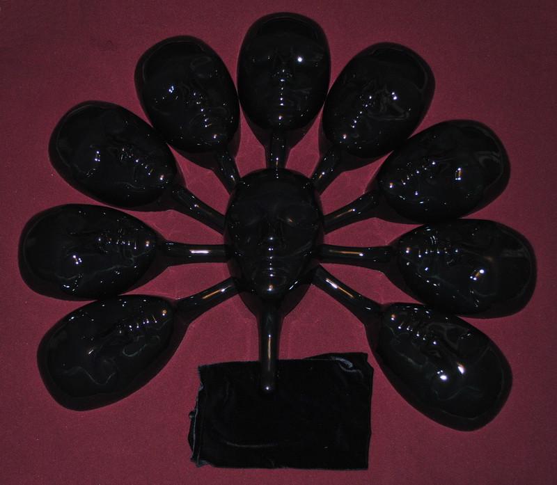Маска для игры Мафия (чёрная)
