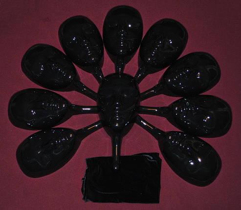Маска для игры Мафия (чёрная), фото 2