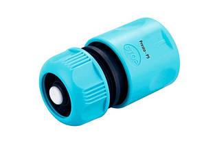 Конектор Presto-PS для шлангу 1/2-5/8 дюйма з аквастопа (7729)