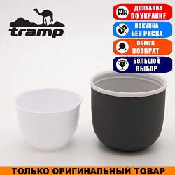 Крышка для термоса Tramp Soft Touch 0,75-1,2 серая. Термос Трамп TRC-108-110-PRB-G.