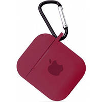 Чехол for AirPods Silicone case Rose red 2000001088647, КОД: 1915925