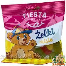 Желейные конфеты Zelki Fiesta мишки Польша 80г