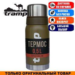 Термос Tramp Expedition Line 0,5л. Оливковый. Термос Трамп TRC-030-olive.
