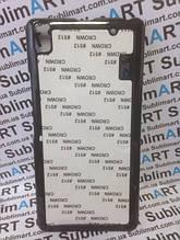 Чехол для 2D сублимации пластиковый на Lenovo A7000 черный