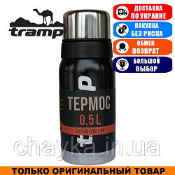 Термос Tramp Expedition Line 0,5л. Черный. Термос Трамп TRC-030-black.