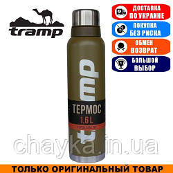 Термос Tramp Expedition Line 1,6л. Оливковый. Термос Трамп TRC-029-olive.