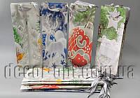 Подарочные картонные пакеты бутылочные 360х80х125мм/1шт