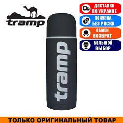 Термос Tramp Soft Touch 0,75л. Серый. Термос Трамп TRC-108-grey.
