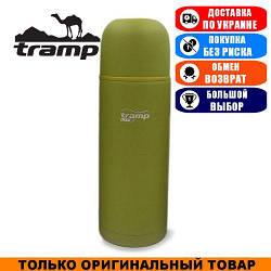 Термос Tramp Lite Touch 1,0л. Оливковый. Термос Трамп TLC-006-olive.