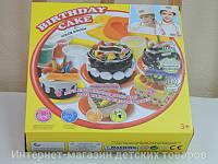 Детский набор для лепки из теста Большой торт 8516