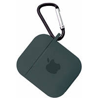 Чехол for AirPods Silicone case Pine green 2000001120378, КОД: 1915921
