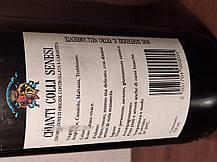 Вино 1988 года  Chianti Италия, фото 2