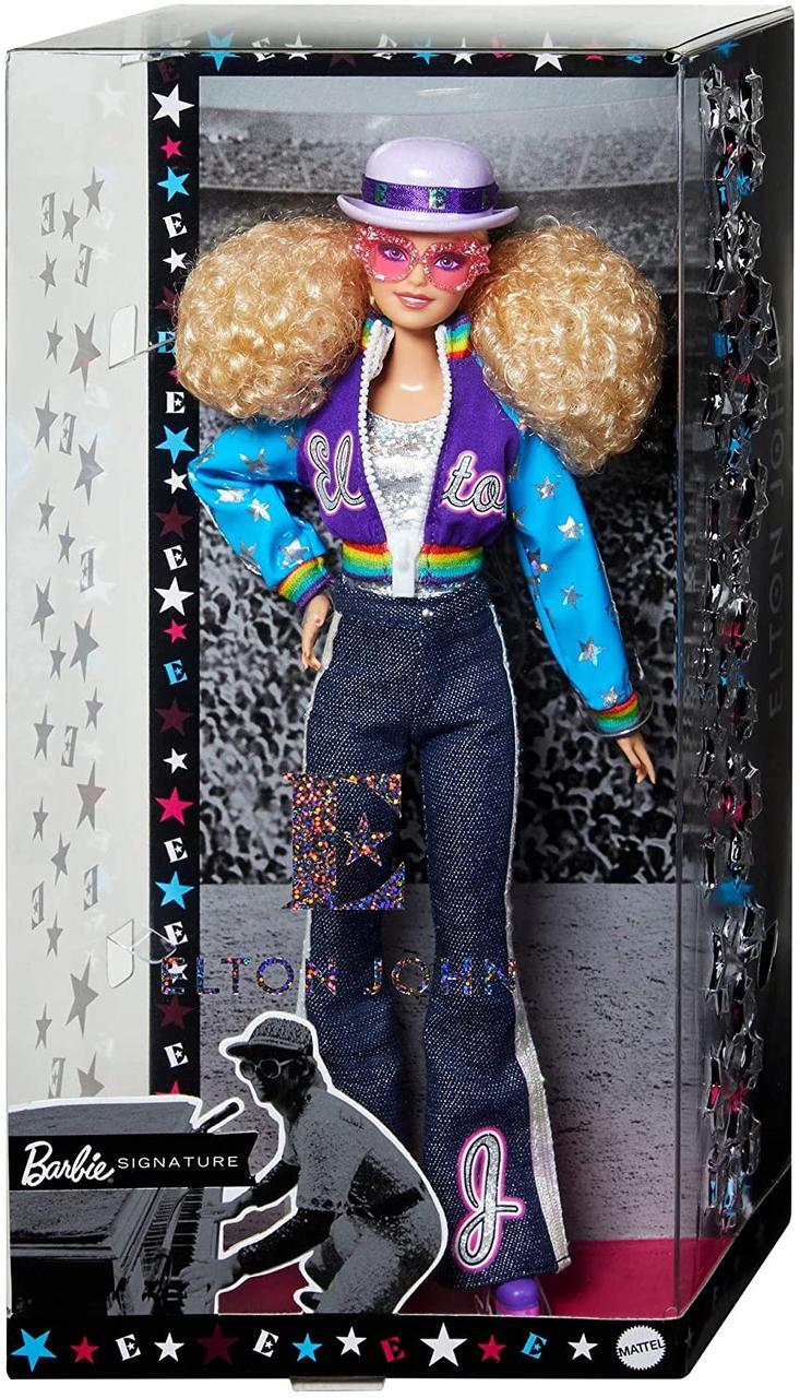 Кукла Барби коллекционная Элтон Джон Barbie Collector Elton John Doll елтон оригинал