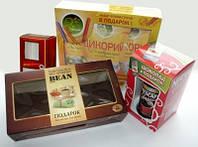 Коробки и упаковка для кондитерских изделий, чая, кофе