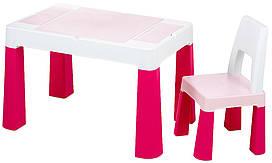 Стіл і стілець Tega Multifun Eco MF-004 123 light pink