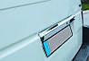 Caravella Т4 Хром планка на распашные двери