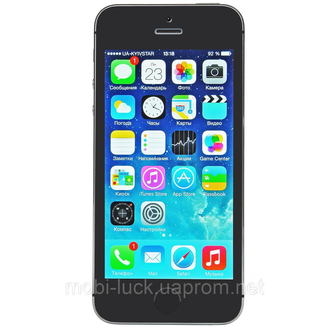 Смартфон Apple iPhone 5S 64GB Space Gray Grade A Refurbished