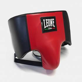 Професійна захист паху для чоловіків Leone Shell Pro розмір L червоний з чорним