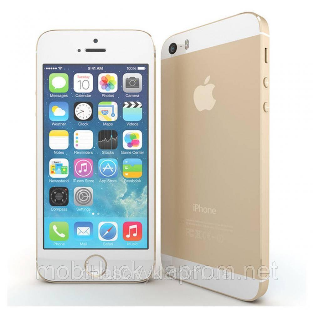 Смартфон Apple iPhone 5S 64GB Gold Grade A Refurbished