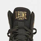 Боксерки (взуття для бойових мистецтв) Leone Premium Black 45 розмір чорні, фото 2