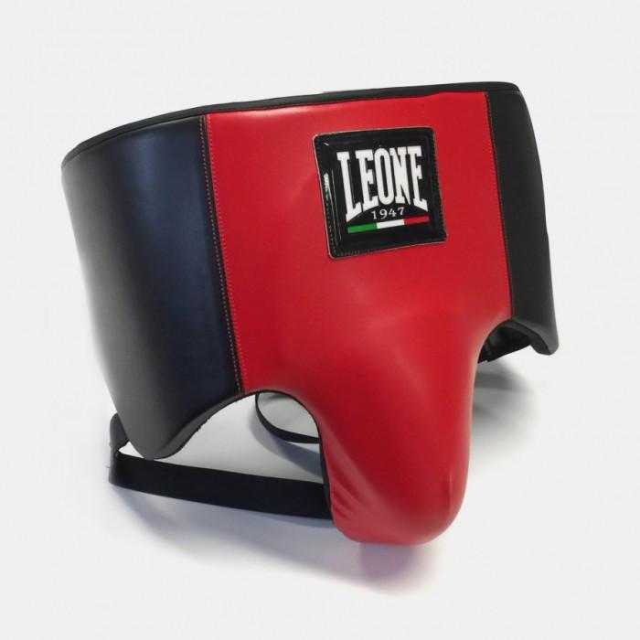 Профессиональная защита паха для мужчин Leone Shell Pro размер M красный с черным