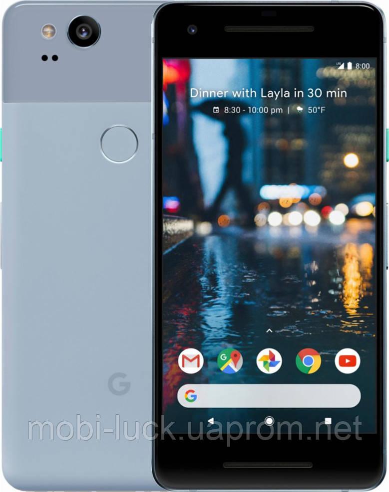 Смартфон Google Pixel 2 128Gb Blue (Kinda Blue) Refurbished