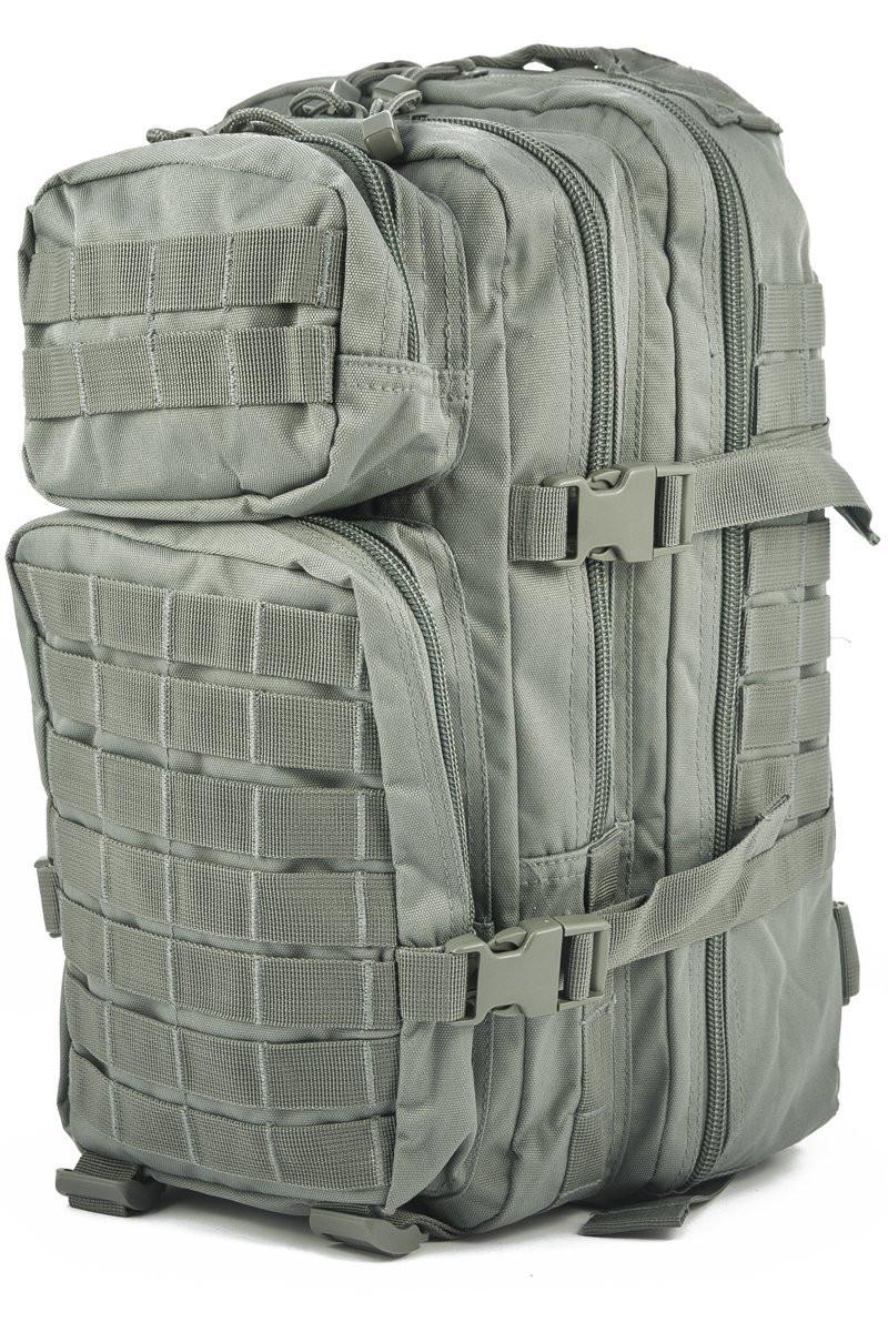 Штурмовой рюкзак 20л с системой Molle MilTec Assault камуфляж Foliage 14002006