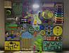Развивающая доска размер 50*60 Бизиборд для детей 37 элементов!, фото 5