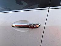 Mazda CX7 Накладки на ручки из нержавейки V1