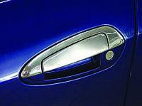 Fiat Grande Punto накладки на ручки и обводку Carmos