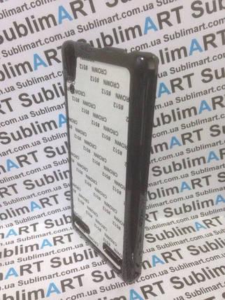 Чехол для 2D сублимации пластиковый на Lenovo A6000 черный, фото 2