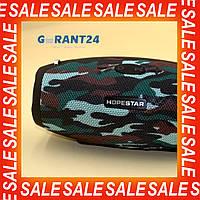 Портативная Bluetooth колонка Hopestar H26 / блютуз / мощная и качественная / недорогая