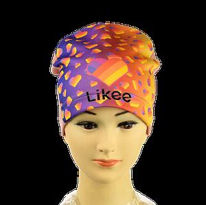 """Шапка для девочки """"Likee"""" трикотажная - Демисезонная детская шапочка"""